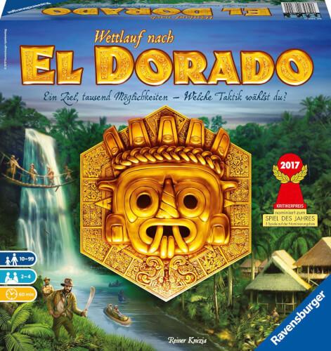Ravensburger 267200 El Dorado, Strategiespiel