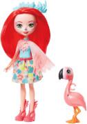 Mattel GFN42 Enchantimals Fanci Flamingo & Swash