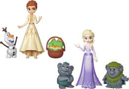 Hasbro E5509EU4 Disney Die Eiskönigin 2 Kleine Puppen mit Freunden