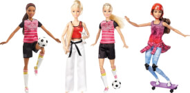 Mattel Barbie - Made to Move Sportlerin, sortiert