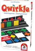 Schmidt Spiele 51410 Qwirkle, Bring-Mich-Mit-Spiel in der Metalldose, 2 bis 4 Spieler, ab 6 Jahre