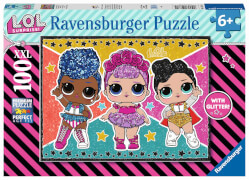 Ravensburger 12881 Puzzle: LOL 100 Teile XXL