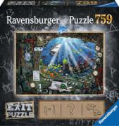Ravensburger 19953 Puzzle Exit 4 Im U-Boot 759 Teile