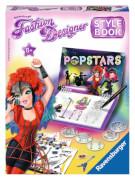 Ravensburger 185740  Fashion Designer Stylebook Popstar