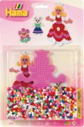 HAMA Stiftplatte+Perlen Prinzessin, 1.100 Stück