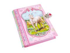 Tagebuch mit Einhornmotiv