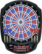 CARROMCO ELEKTRONIK DARTBOARD STRIKER-601, MIT ADAPTER, 2-LOCH ABSTAND