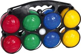 Outdoor active Boccia mit 8 Bällen, Kunststoff, 10-teilig, Outdoorspielzeug, ca. 29x7,5x19 cm, für 2-4 Spieler, ab 3 Jahren
