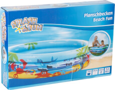 Splash & Fun Planschbecken Beach Fun # 120 cm