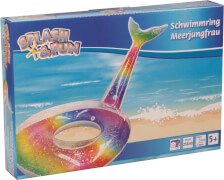 Splash & Fun Schwimmring Meerjungfrau